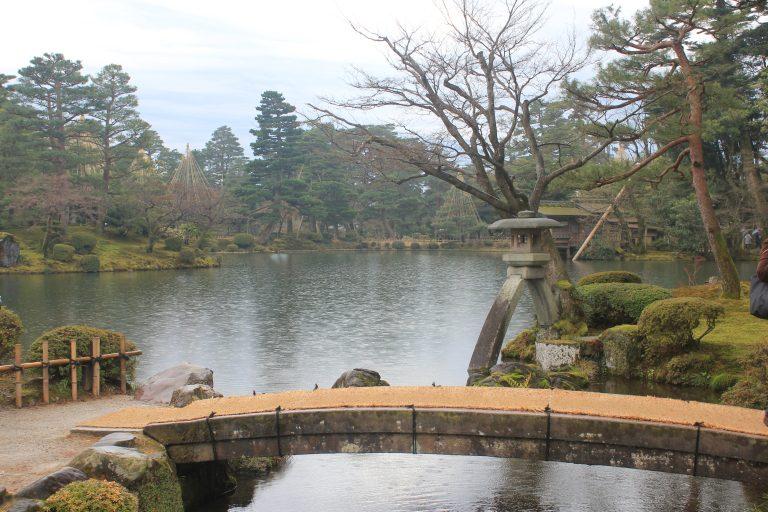 兼六園の景色
