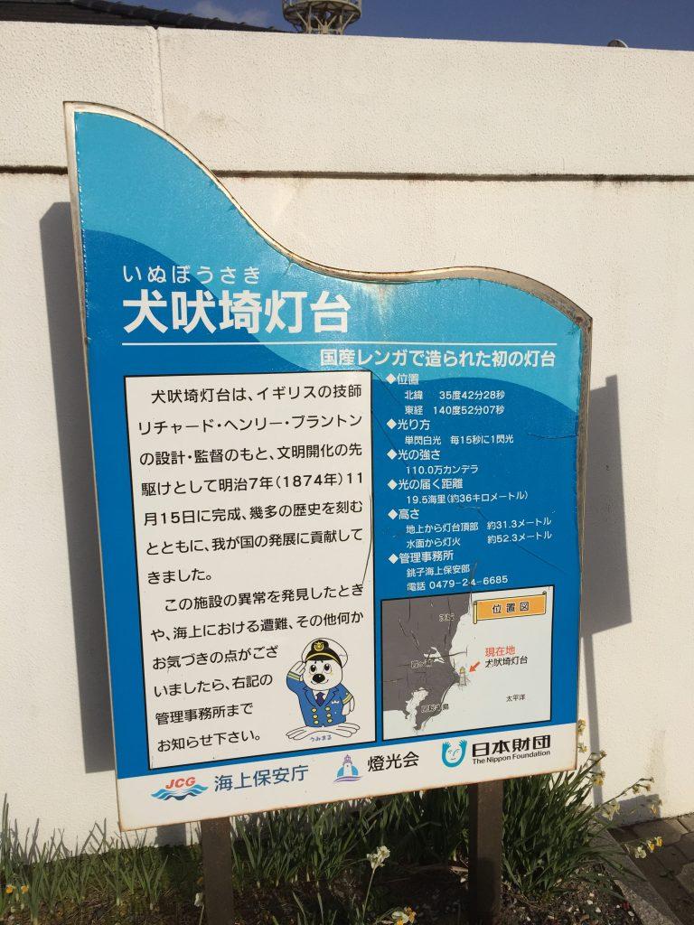 犬吠埼灯台の説明