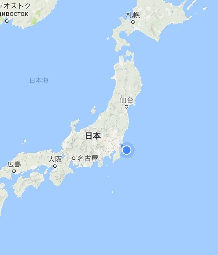 日本の南東