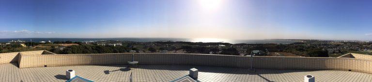地球の丸く見える丘展望館パノラマ