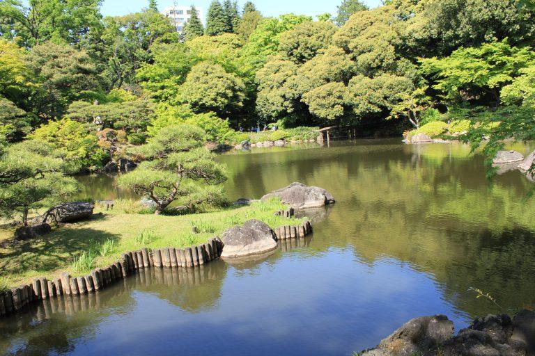 旧古河庭園日本庭園