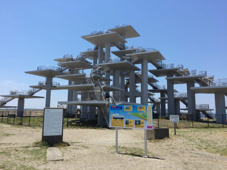 富津岬の展望塔