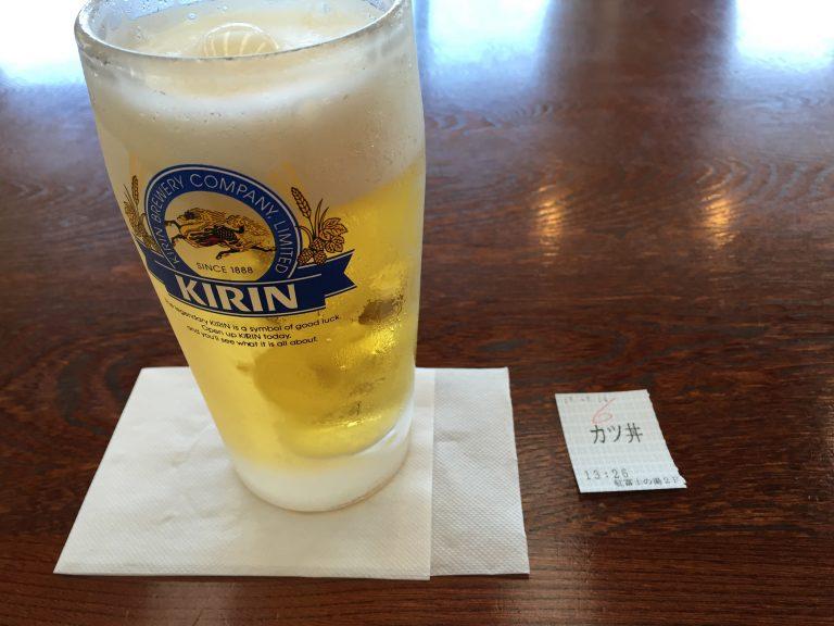 ビールかつ丼