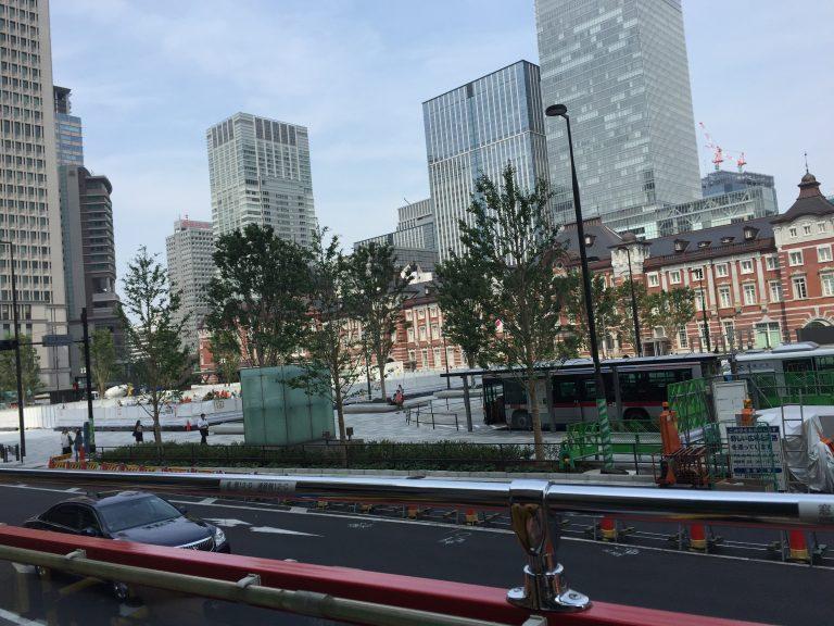 SKYBUSからの東京駅