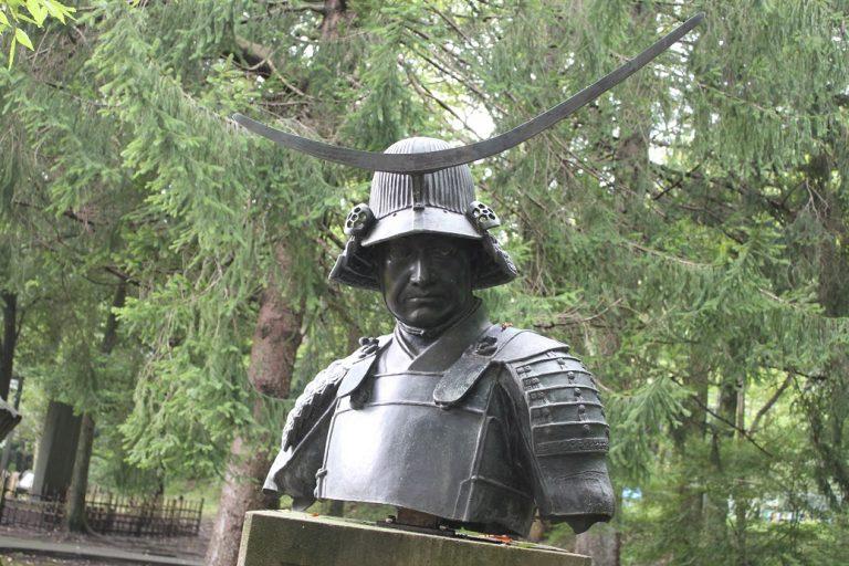 伊達政宗銅像