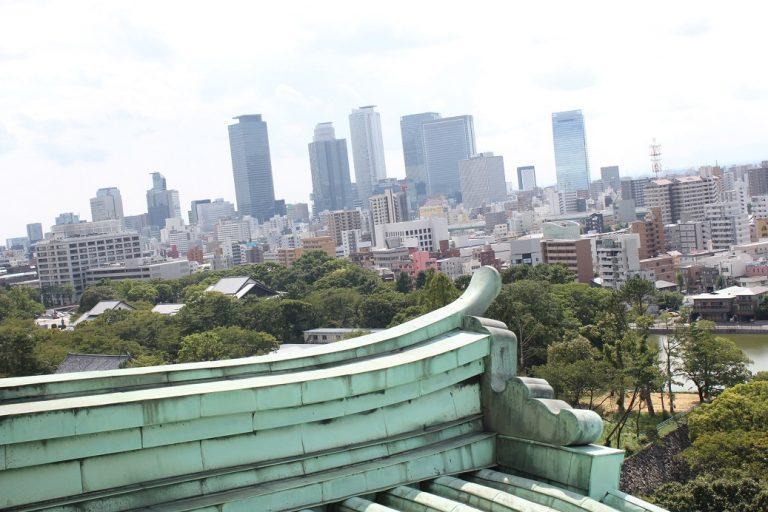 名古屋城の景色
