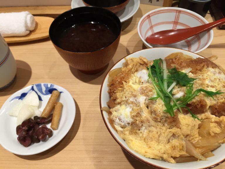 東京駅八重洲口「とんかつ 寿々木」かつ丼