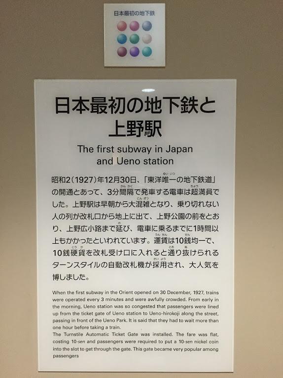 日本で最初の地下鉄